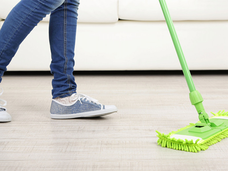 Cleaning in shared apartments for students