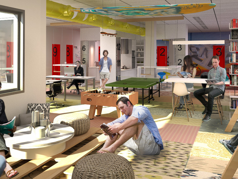 The student coliving arrives in Barcelona: the dorms of millenials