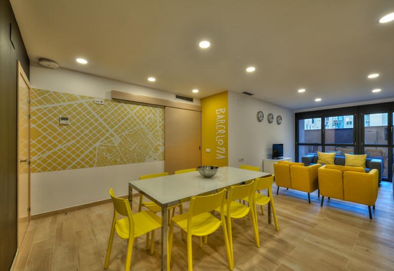 """Nuevos """"yellow flats"""" para estudiantes en Barcelona"""