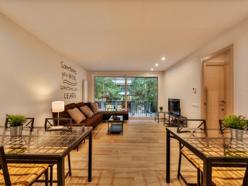 Nuestro primer apartamento de estudiantes en el barrio de Les Corts