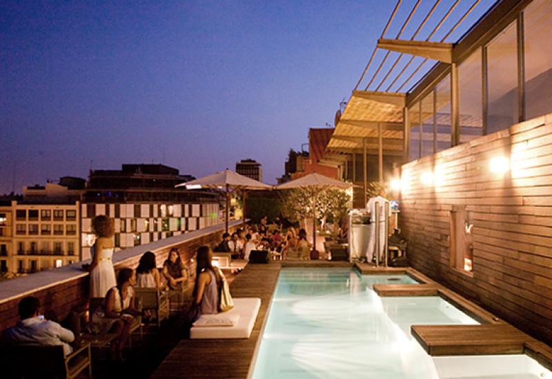 Semana de las terrazas de los hoteles en Barcelona